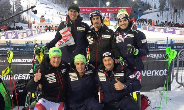Le ski suisse est de retour au top