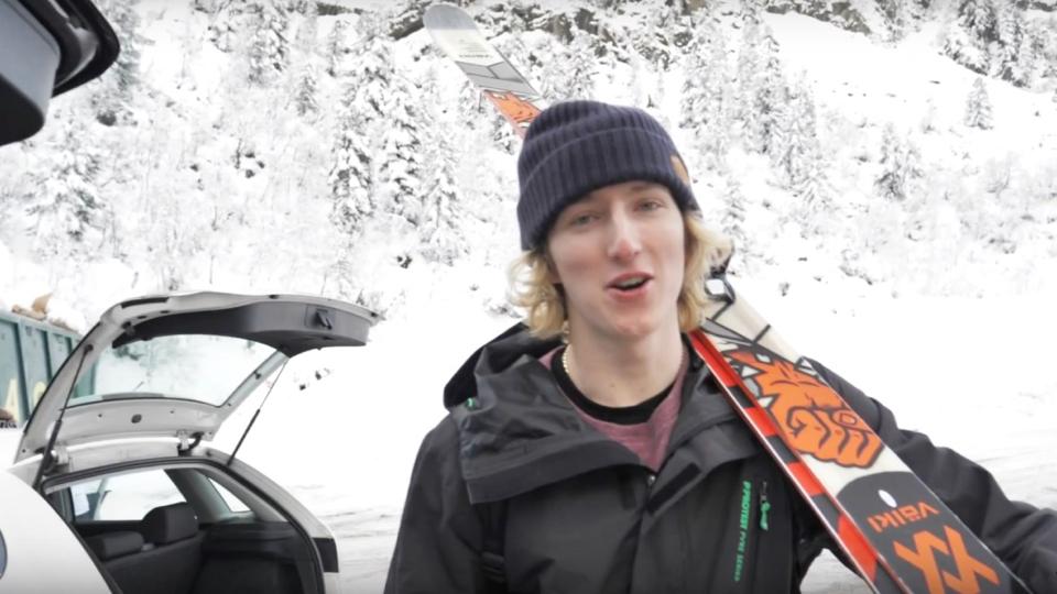 Andri Ragettli lance son Vlog