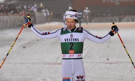 Doublé Norvégien, Tim Hug marque un point
