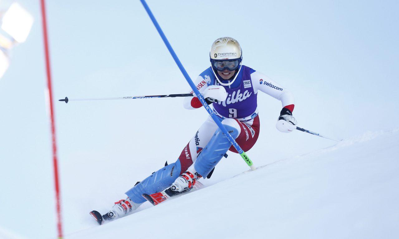Michelle Gisin sera au slalom de Levi
