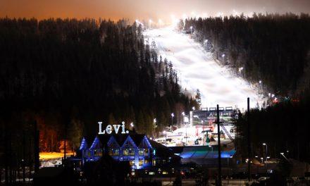 Retour sur les courses de Levi en images