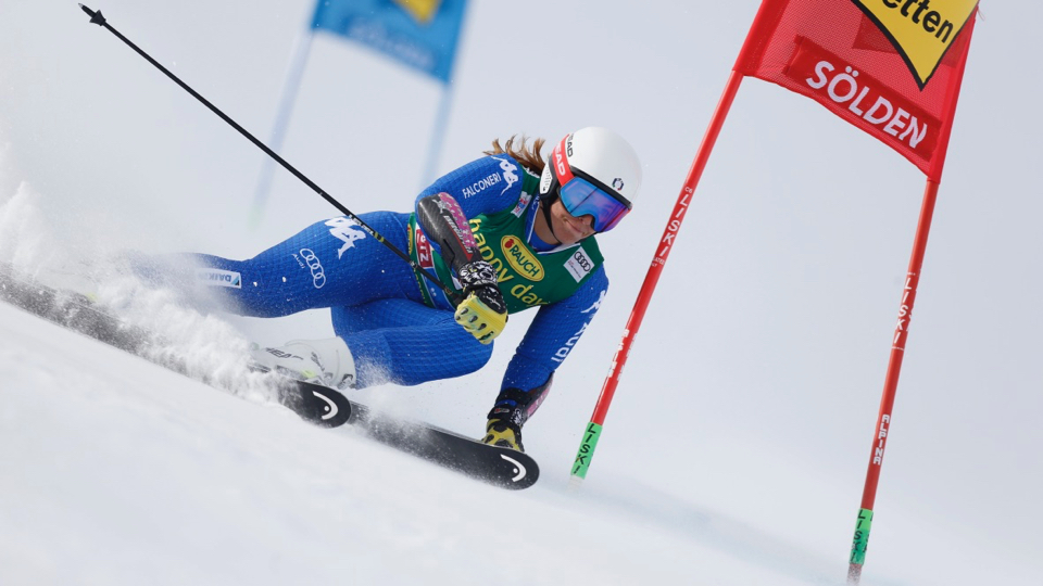 Elena Curtoni touchée à l'entraînement