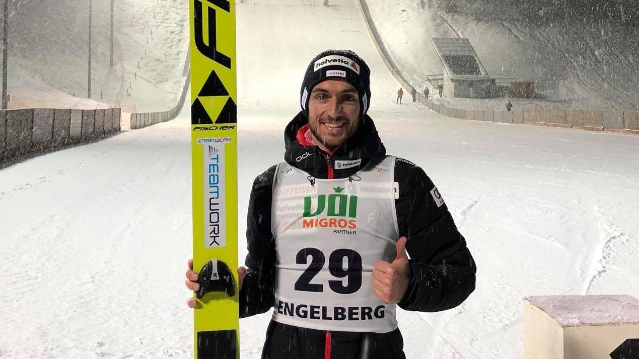 Killian Peier se refait une santé à Engelberg