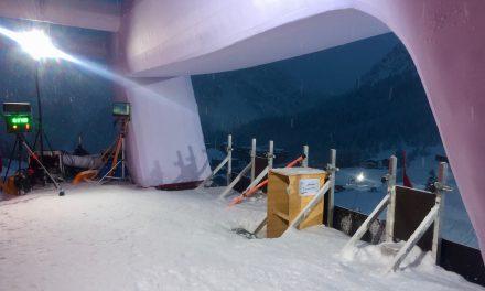 Les coulisses du skicross à Arosa en images