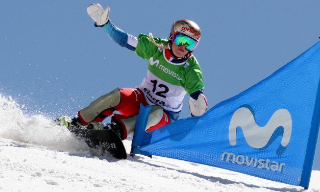 Julie Zogg 2e à Cortina d'Ampezzo