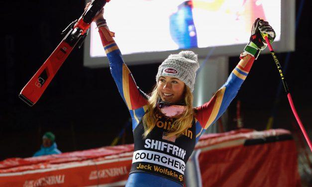 Mikaela Shiffrin gagne encore à Courchevel