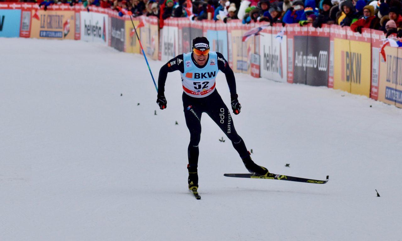 Dario Cologna prend le large au Tour de Ski