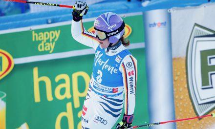 Viktoria Rebensburg reprend sa marche en avant