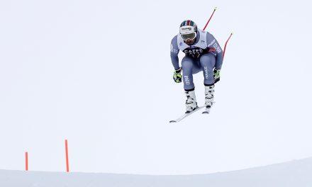 Adrien Théaux devant, les Suisses discrets