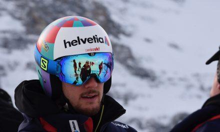"""Luca Aerni: """"Bizarre que je sorte en slalom"""""""