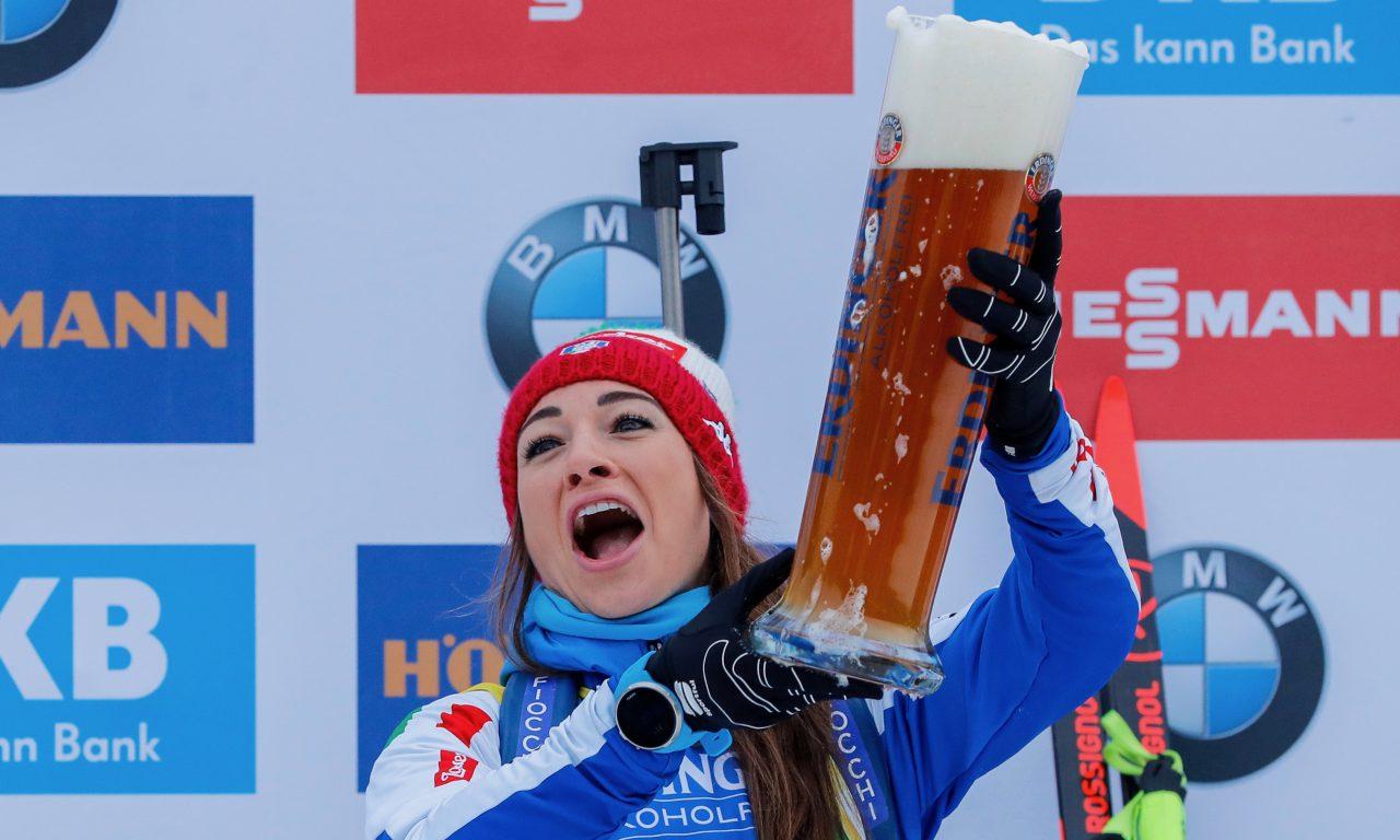 Dorothea Wierer au top à Ruhpolding