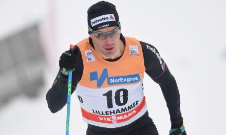Le duo Hediger-Schaad au pied du podium