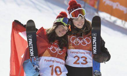 Le doublé des Suissesses en slopestyle!
