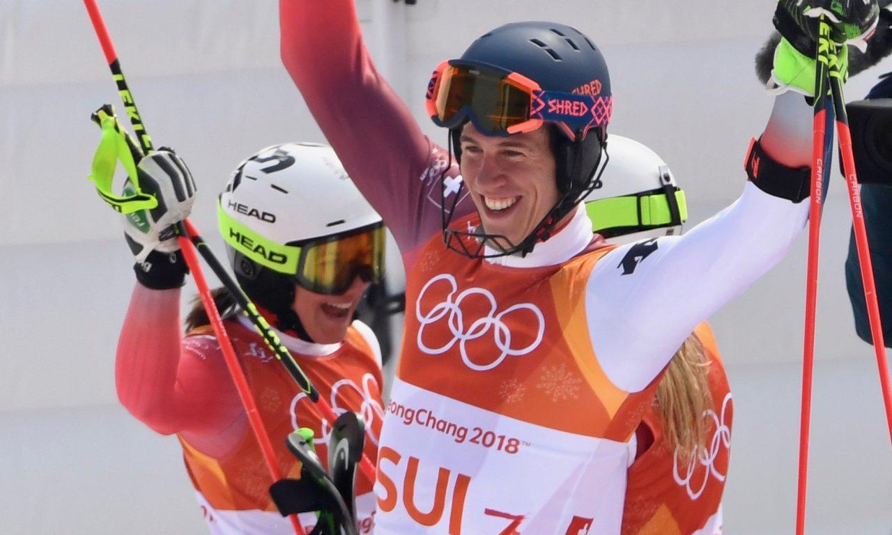 La Suisse en or lors du Team Event