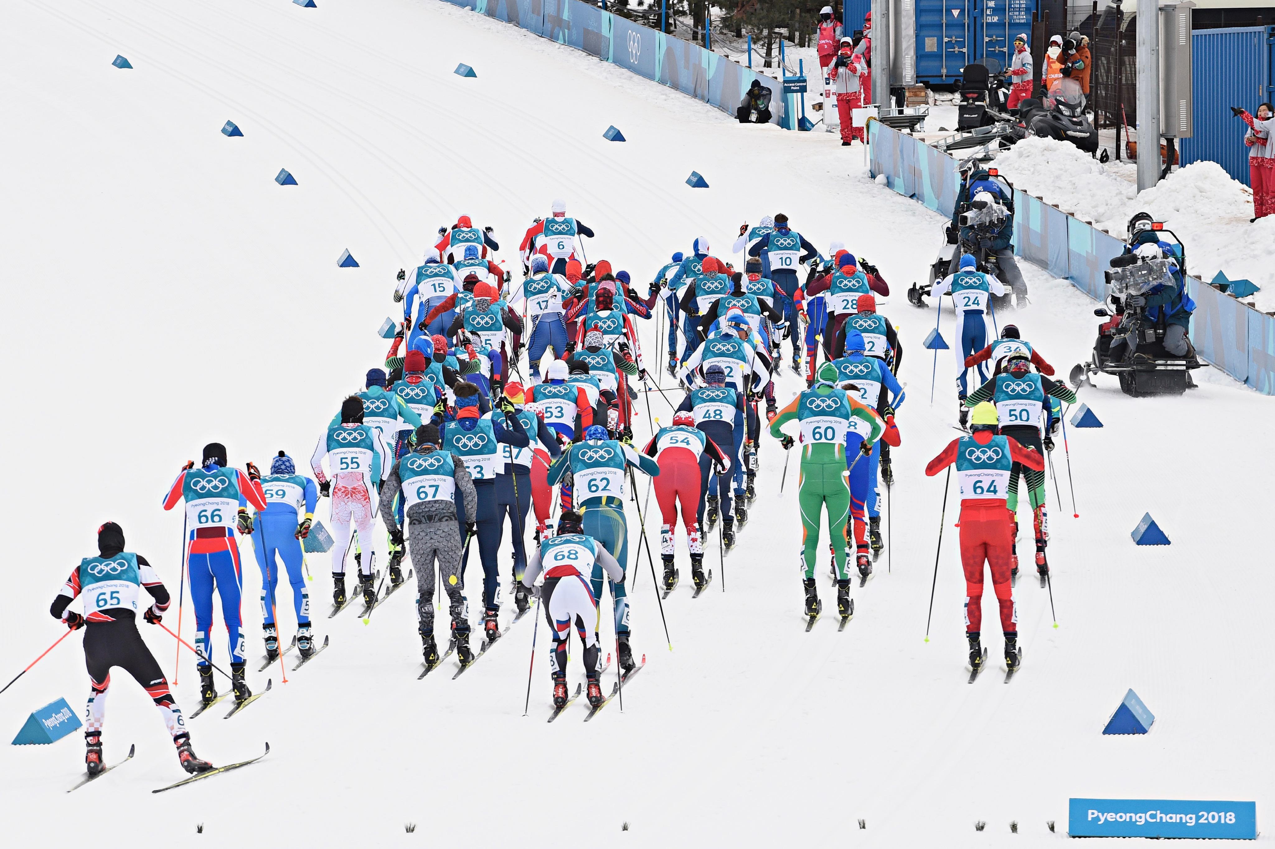 Skiathlon masculin.