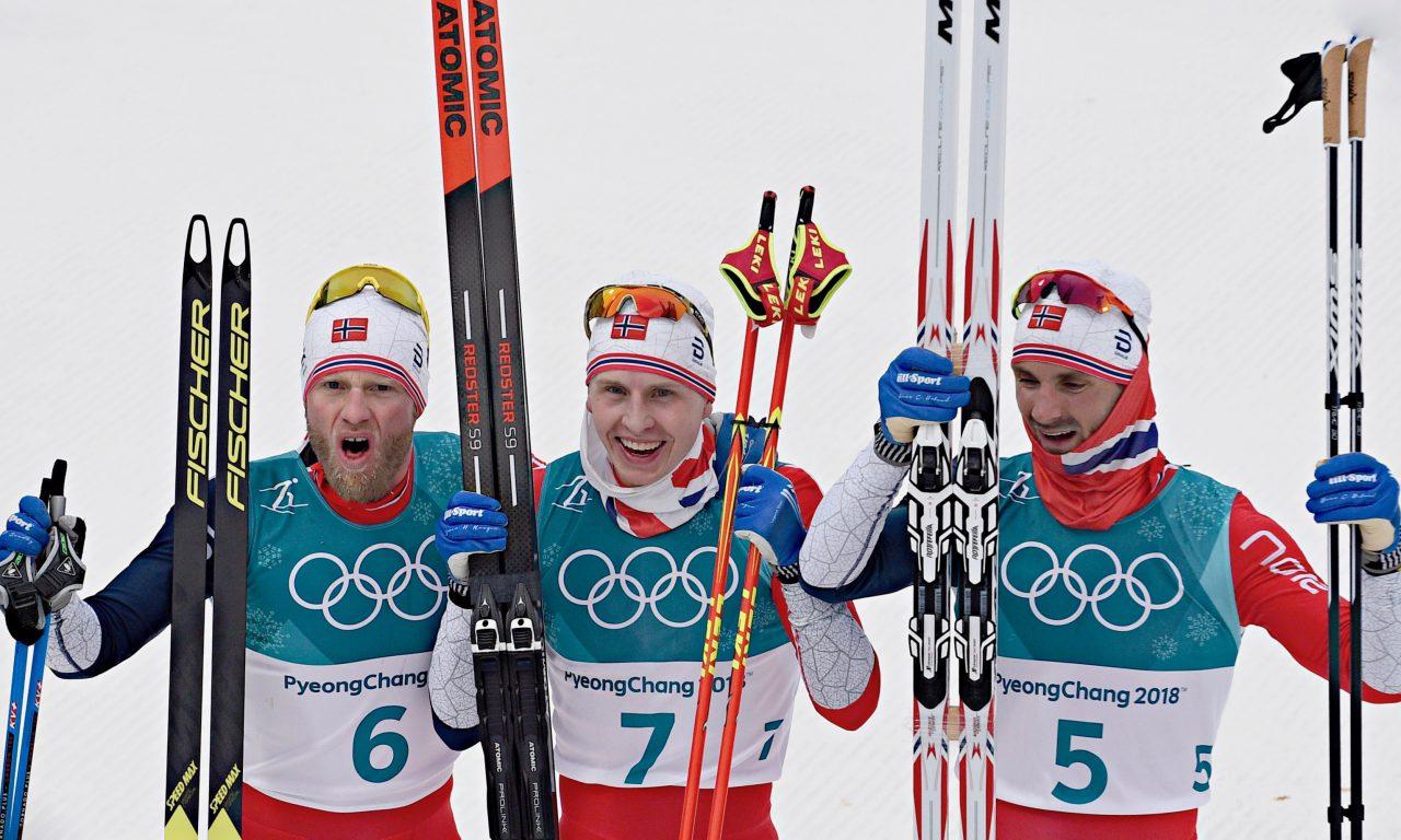 Triplé norvégien, Dario Cologna 6e