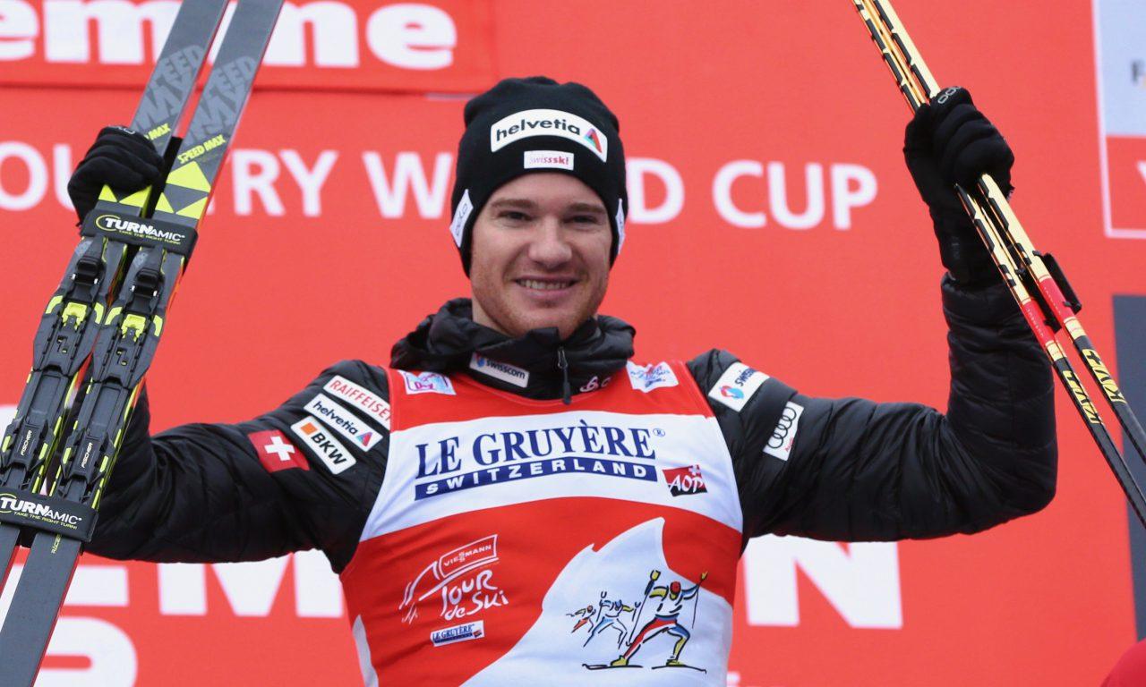 Dario Cologna portera le drapeau suisse
