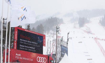 Le slalom masculin également à la trappe