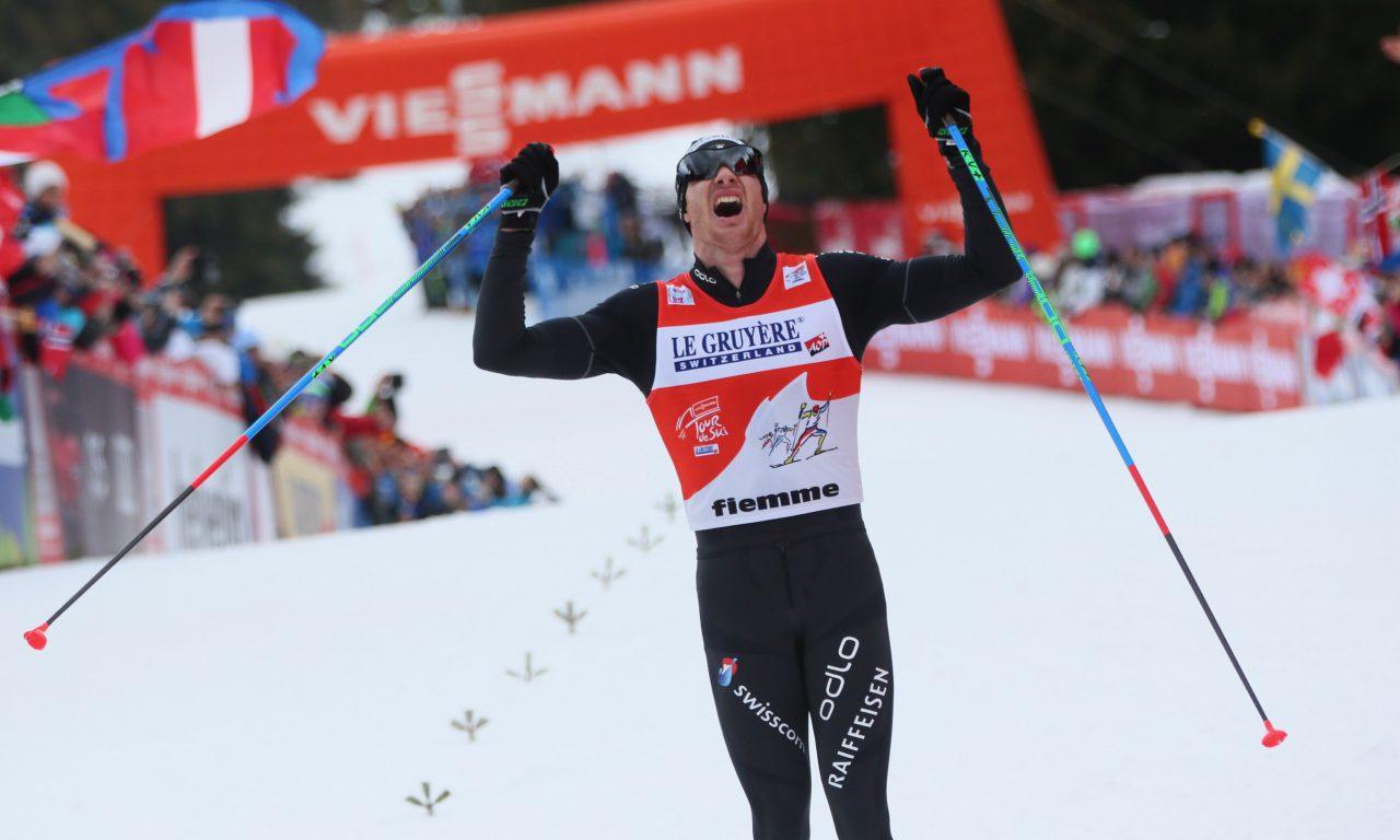 Incroyable succès de Dario Cologna à Oslo