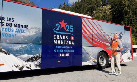La candidature de Crans-Montana 2025 se dévoile