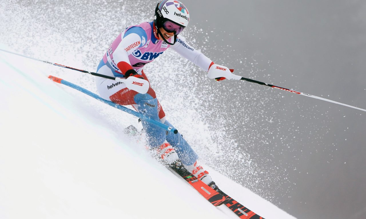 Michelle Gisin surprenante à Killington