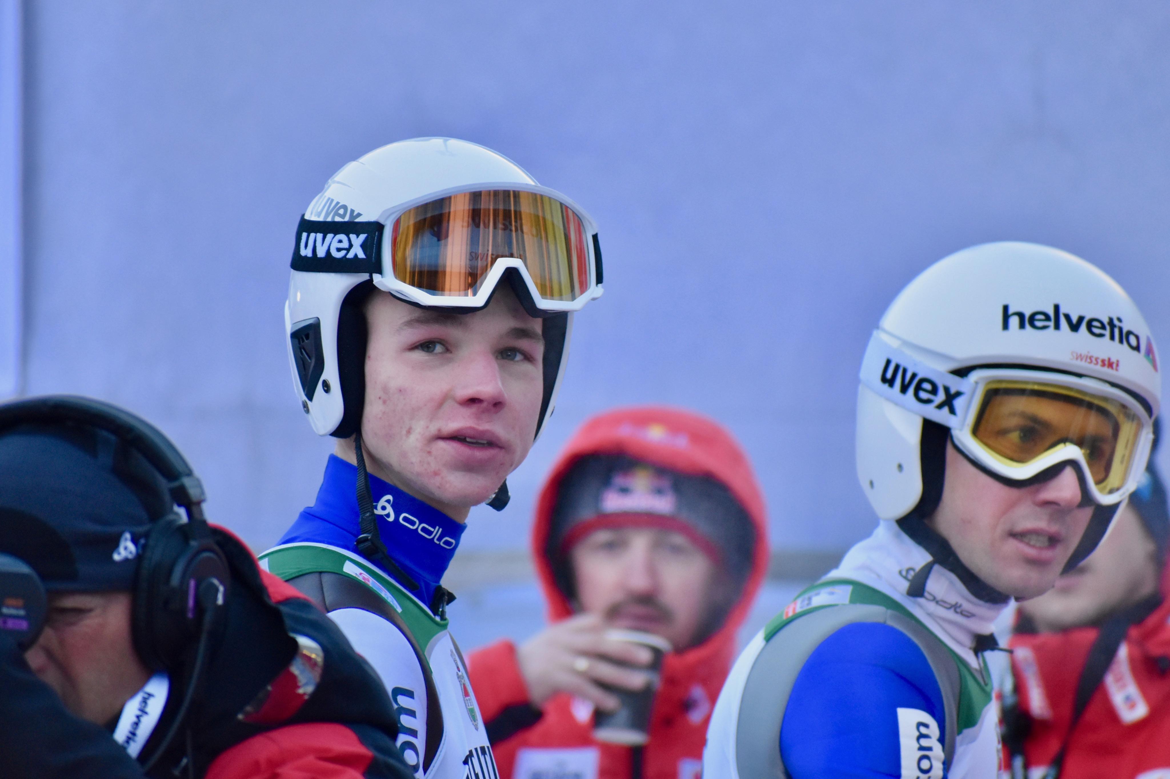 Andreas Schuler et Simon Ammann