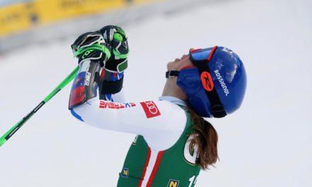 Petra Vlhova crée la surprise en géant