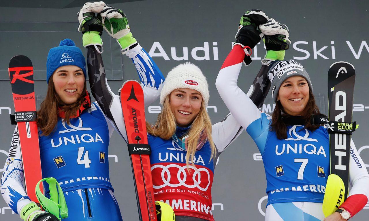 Wendy Holdener de retour sur le podium en slalom