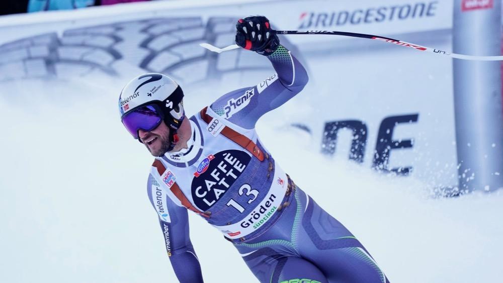 Aksel Lund Svindal retrouve les joies de la victoire