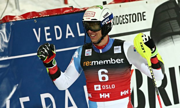 Zenhäusern et Holdener sur la boîte à Oslo