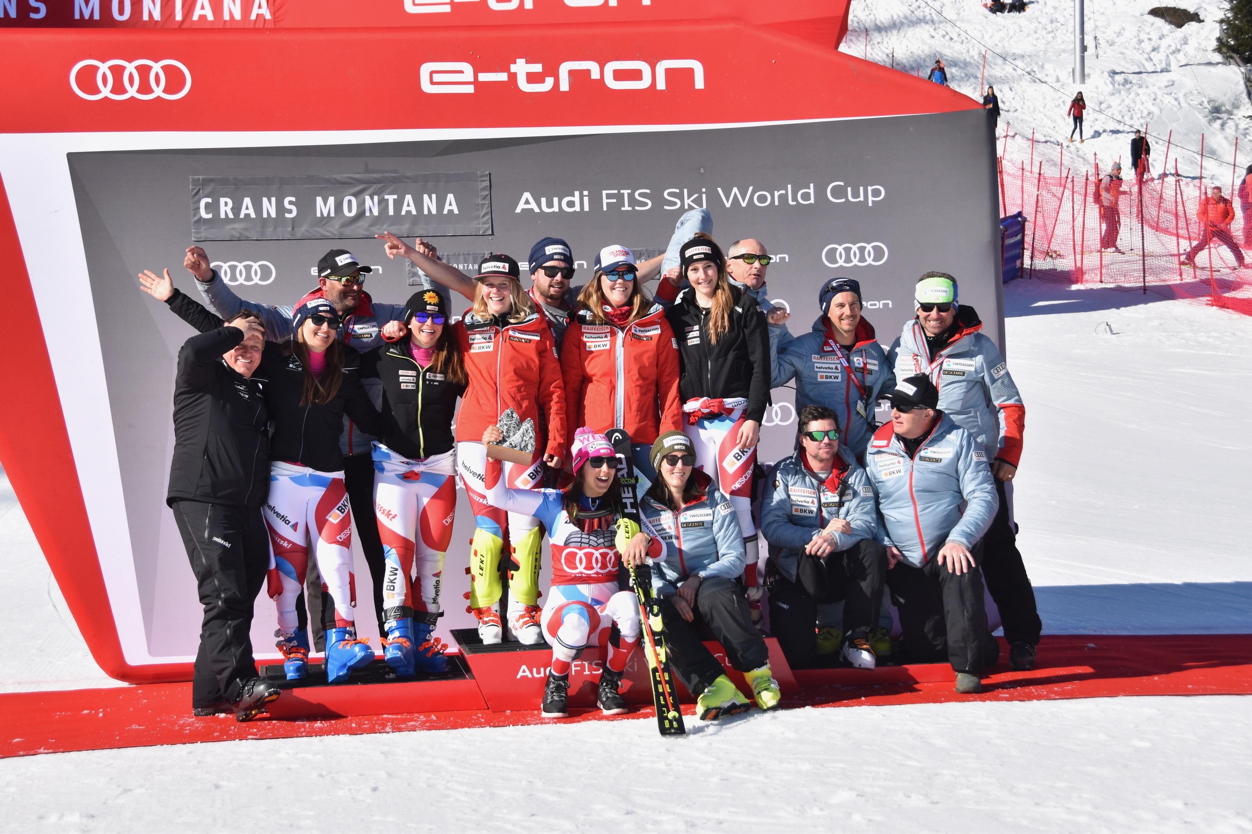 L'équipe de Suisse