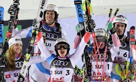 La Suisse à nouveau titrée par équipe à Are