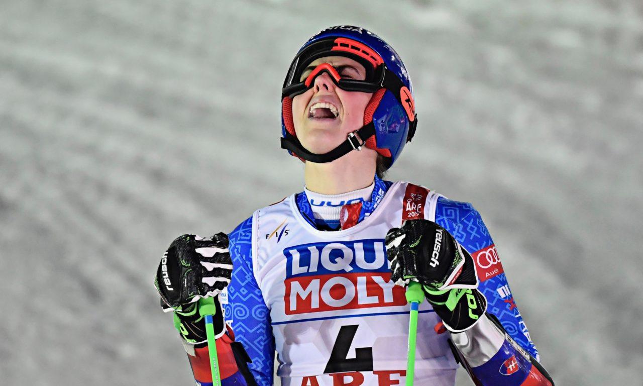 Petra Vlhova, une première mondiale pour la Slovaquie