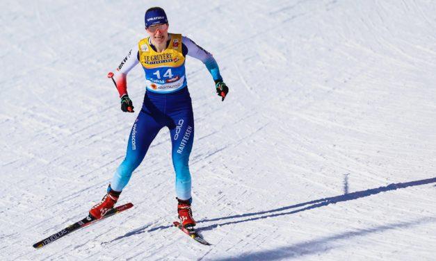 Nadine Fähndrich 5e sur le 10 km classique de Seefeld