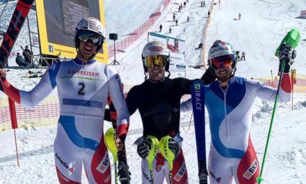 Camille Rast et Loïc Meillard champions de Suisse