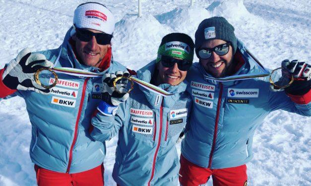 La Suisse conserve sa couronne en Team Event