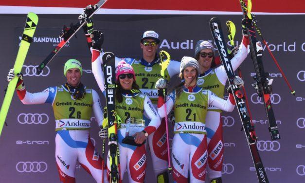 Le Team Event ne pouvait échapper à la Suisse