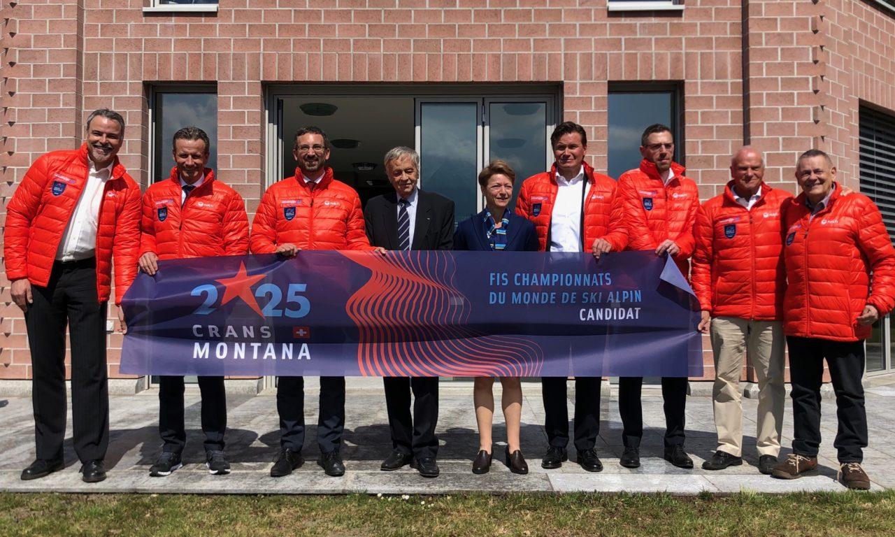 Crans-Montana officiellement candidat aux Mondiaux 2025