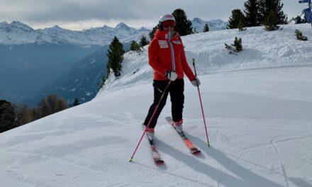 Mélanie Meillard est de retour sur les skis