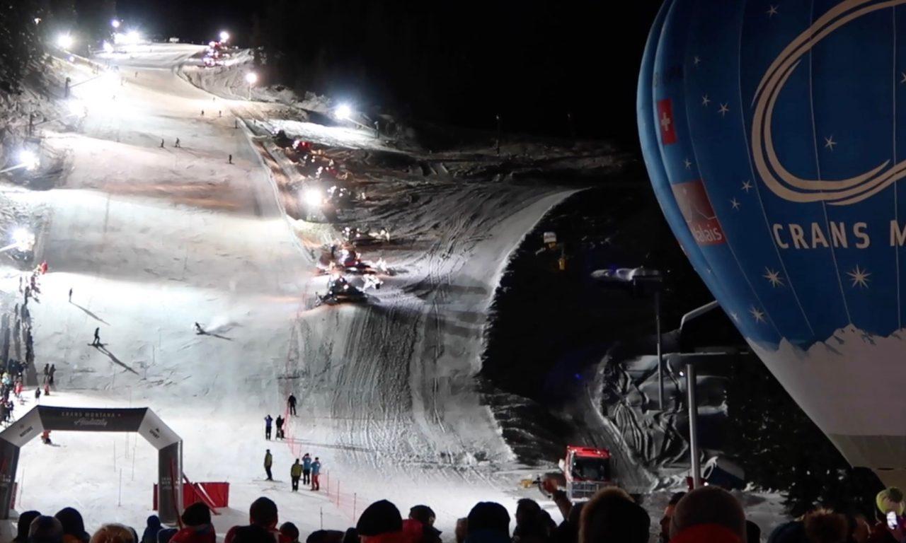 Un nouveau slalom nocturne pour Crans-Montana