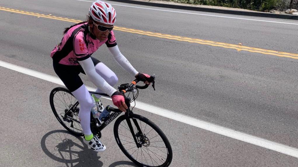 Philippe May réussit son pari extrême à vélo