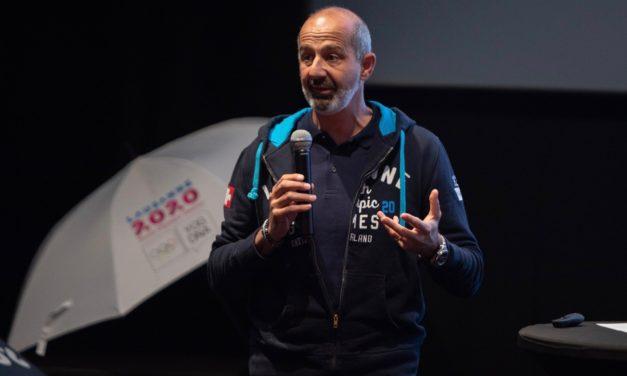 """Ian Logan: """"Les JOJ, un projet pour la jeunesse"""""""