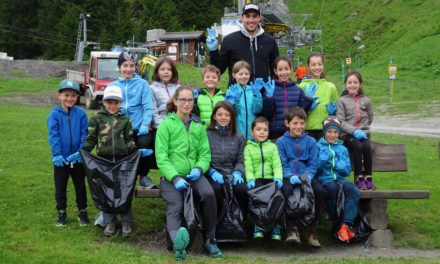 Daniel Yule et le ski valaisan nettoient nos montagnes