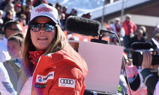 Mélanie Meillard met un terme à sa saison