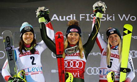"""Wendy Holdener: """"J'ai su skier intelligemment"""""""