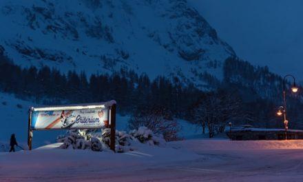 Encore une journée blanche à Val d'Isère