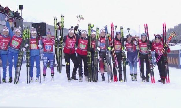 Intenables, les Suissesses encore sur le podium
