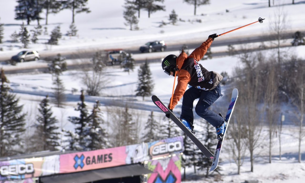 Sarah Höfflin en argent aux X Games en slope