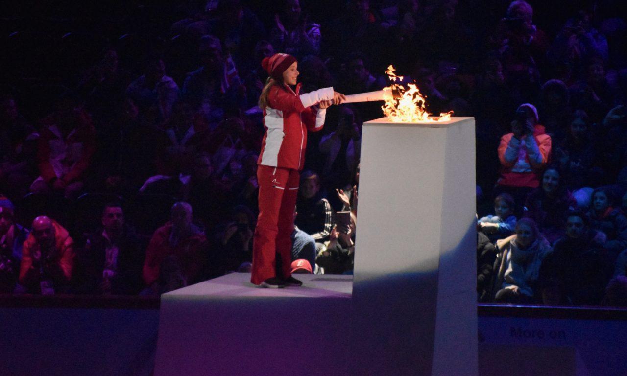 Les Jeux olympiques de la Jeunesse sont ouverts