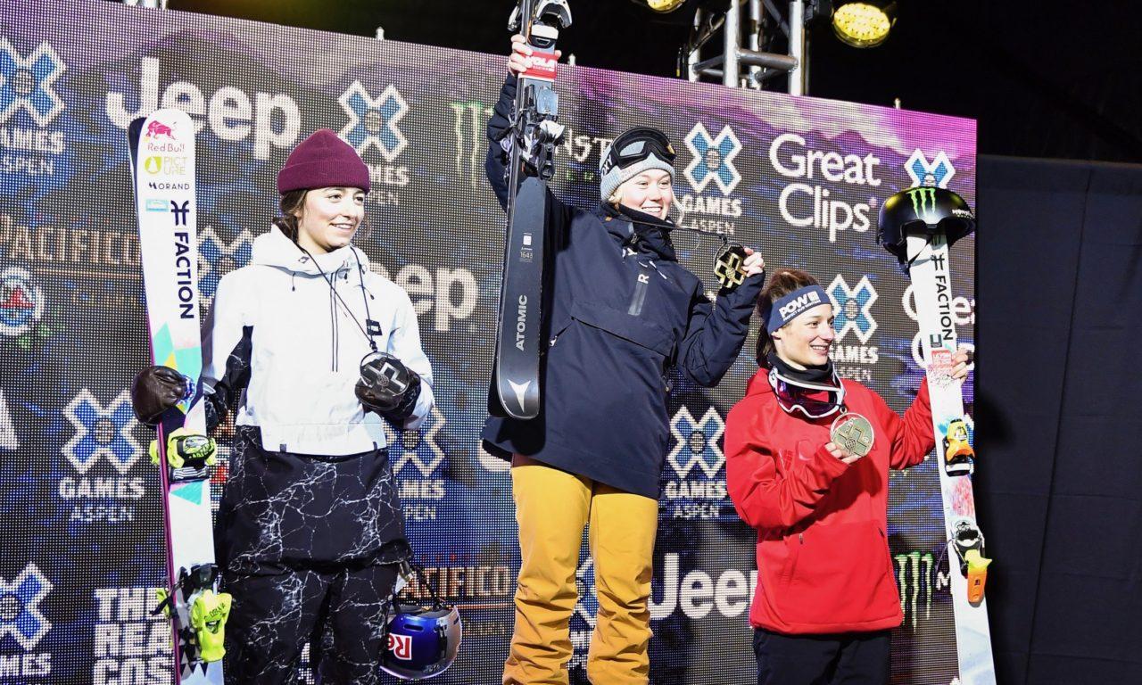 Trois médailles suisses aux X Games!